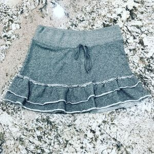 American Eagle Skirt sweat Shirt Material